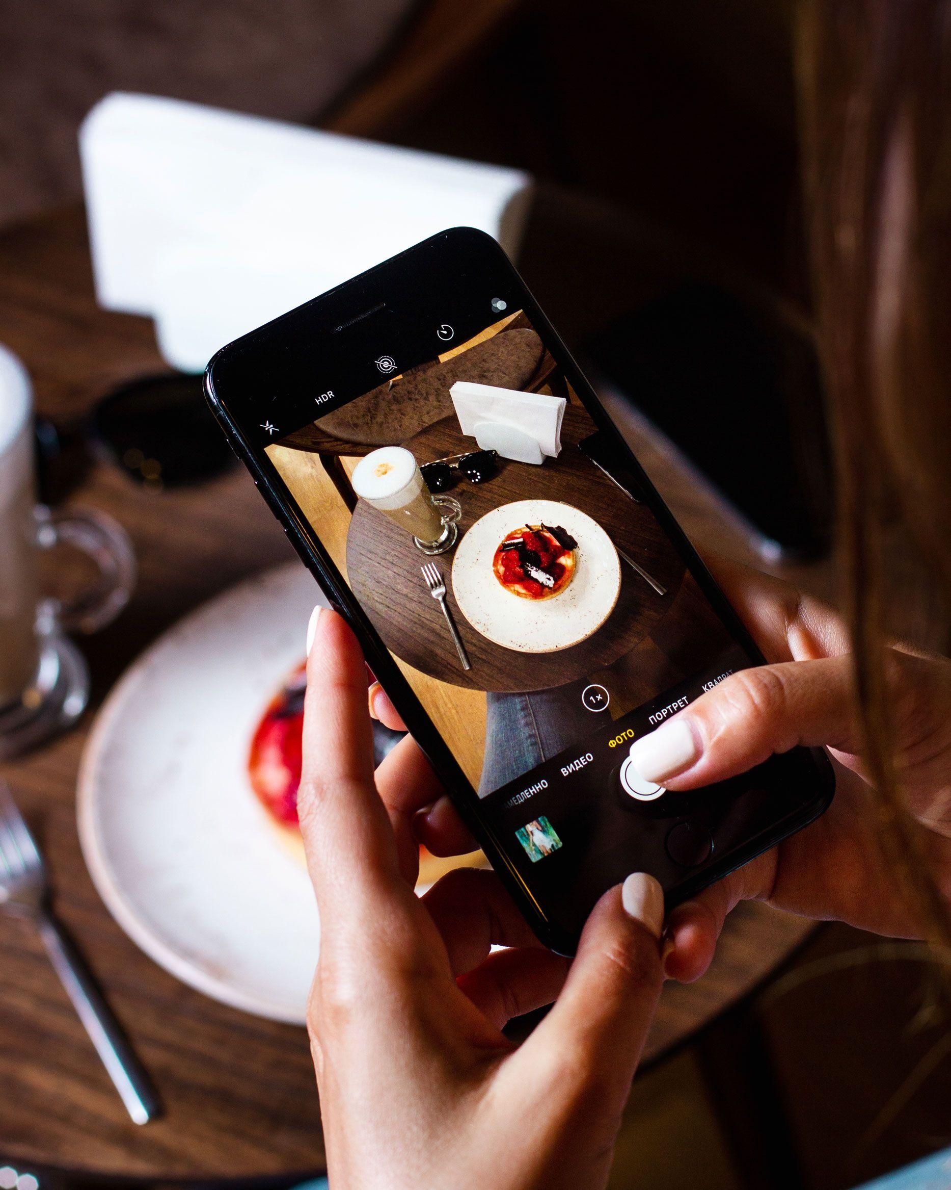 cómo hacer fotografía gastronómica móvil