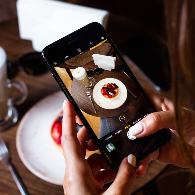 fotografia gastronomica con movil