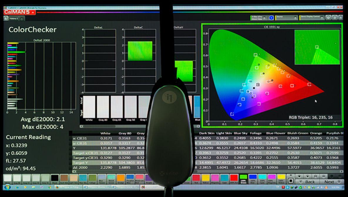 calibrado de monitor fotografia